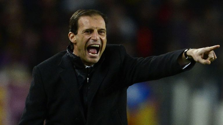 Massimiliano Allegri: Sacked by Milan