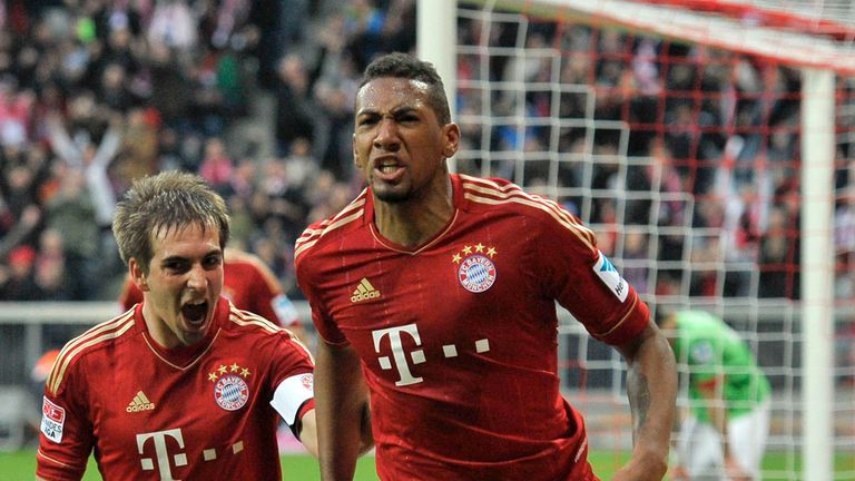 Jerome Boateng: Netted a late winner for Bayern