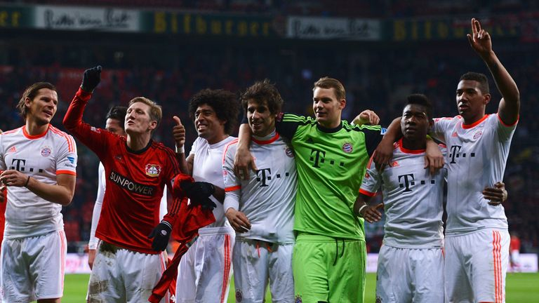Bayern Munich: Hoping to celebrate Bundesliga title glory