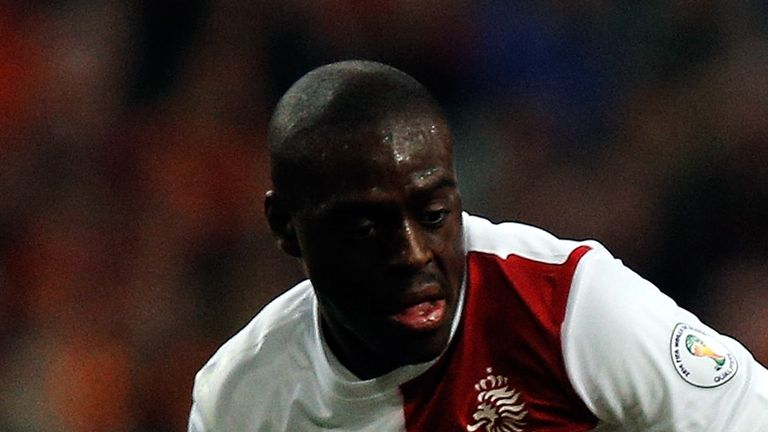 Bruno Martins Indi: Linked with Everton and may be allowed to leave Feyenoord