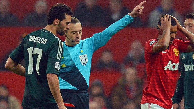 Cuneyt Cakir: No interviews given discussing Nani sending-off