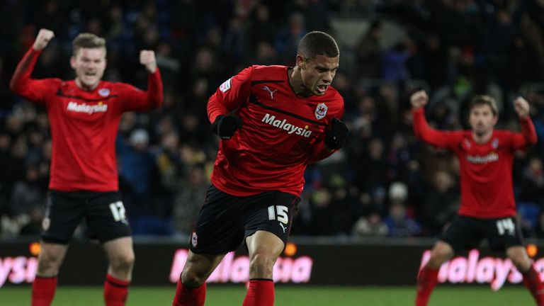 Rudy Gestede: Scored winner for the Championship leaders