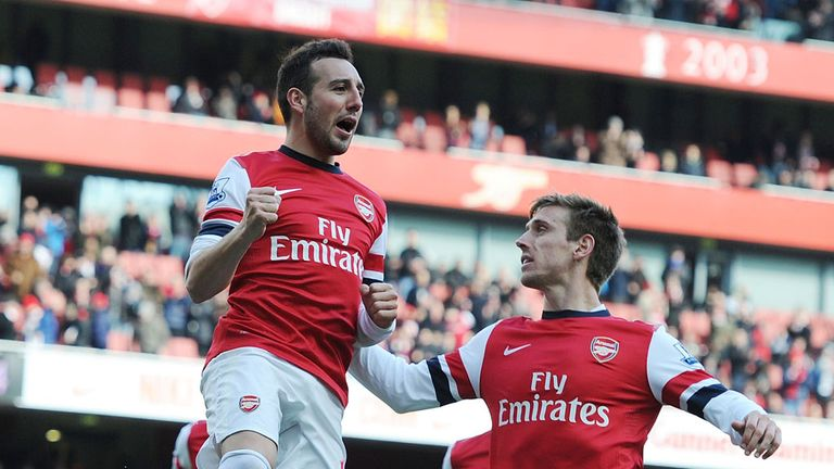 Santi Cazorla: Loving life at the Emirates