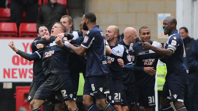 Shane Lowry: Scored the second for Millwall who won comfortably