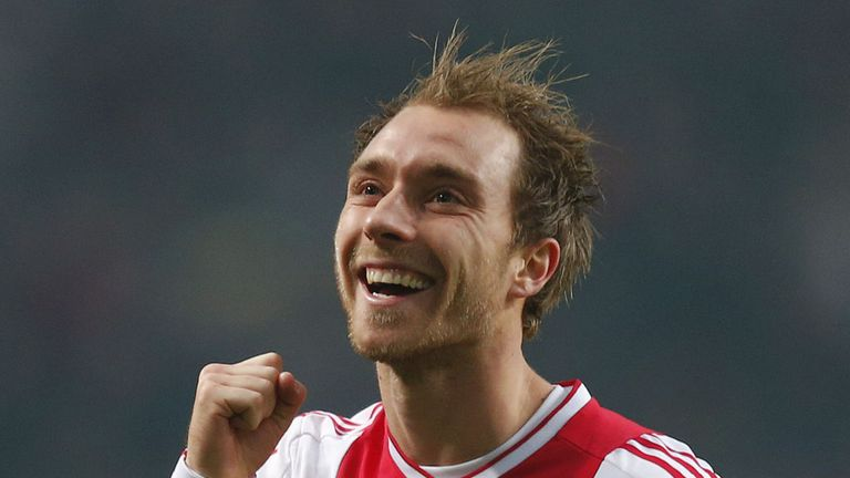 Christian Eriksen: The Ajax star has one year left on his contract with the Dutch giants