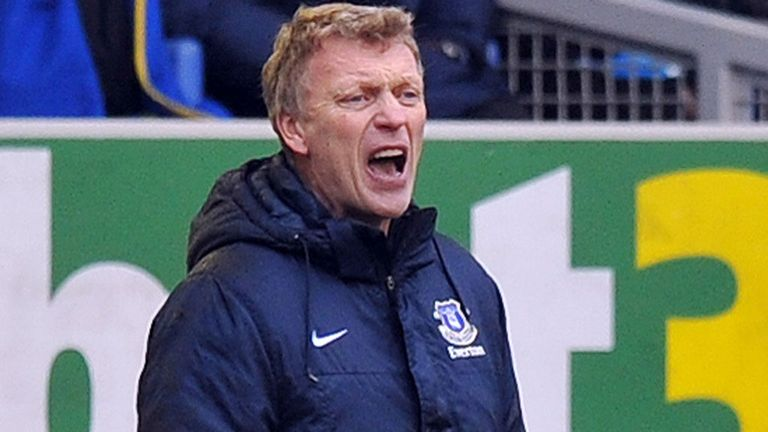 David Moyes: Everton boss watched his side defeat Stoke 1-0