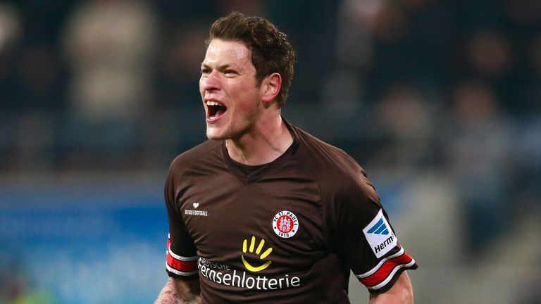 Daniel Ginczek: Flattered by West Ham's interest but happy in Germany