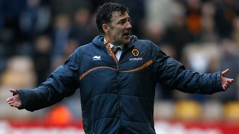 Dean Saunders is in dire need of a win for Wolves