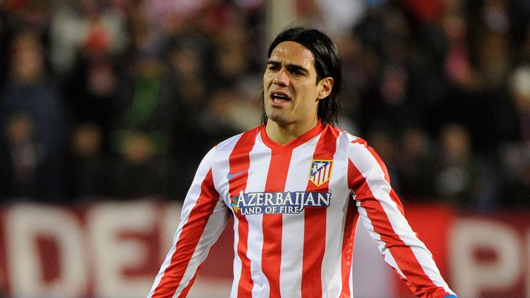 Frustrated Atletico striker Falcao