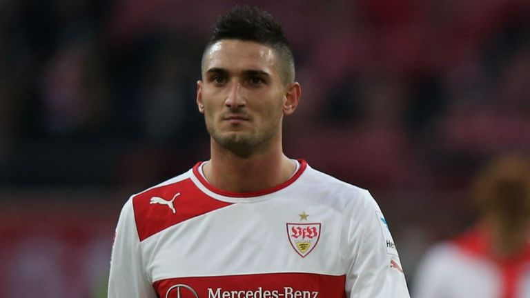 Federico Macheda: Manchester United forward on loan at Stuttgart