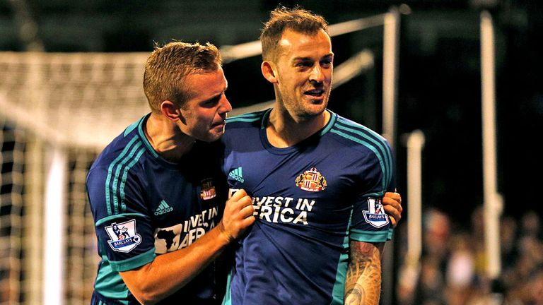 Steven Fletcher and Lee Cattermole: Big loss for Sunderland