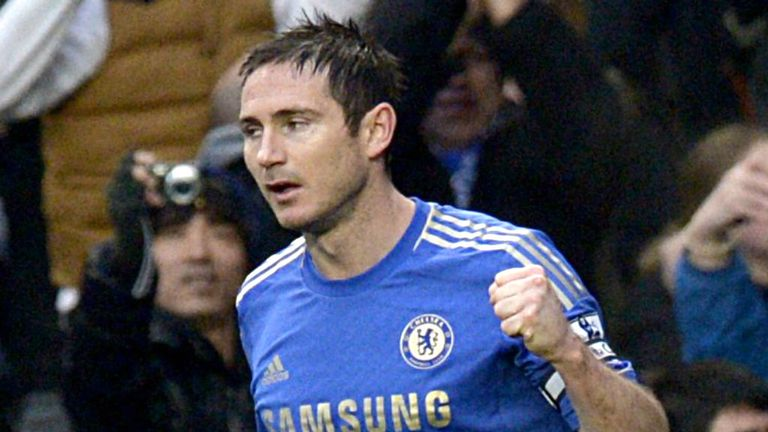 Frank Lampard: Is out of contract at the end of the season