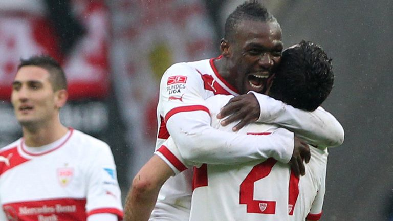 Arthur Boka: Opened the scoring for Stuttgart