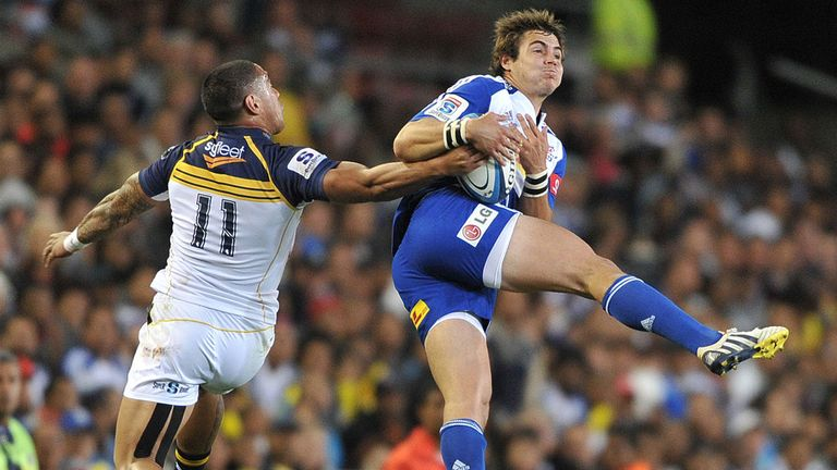 Gerhard van den Heever (right) in Stormers action