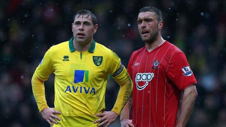 "Grant Holt (left): Believes Norwich's ""unfashionable"" status meant he was ignored by England"