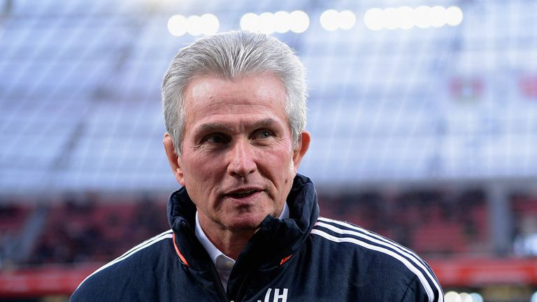 Jupp Heynckes: Happy with Bayern
