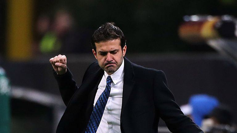 Andrea Stramaccioni: Inter Milan coach under increasing pressure