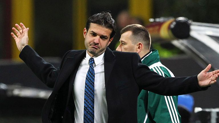 Andrea Stramaccioni: Believes his Inter side made a 'big step forward'