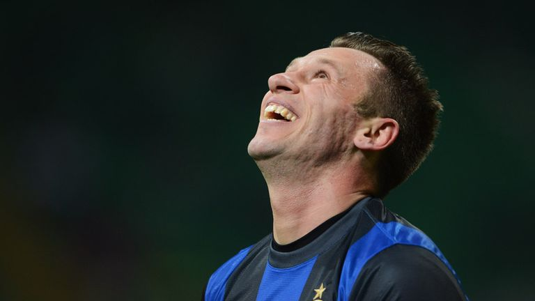 Antonio Cassano: Has completed his move to Parma