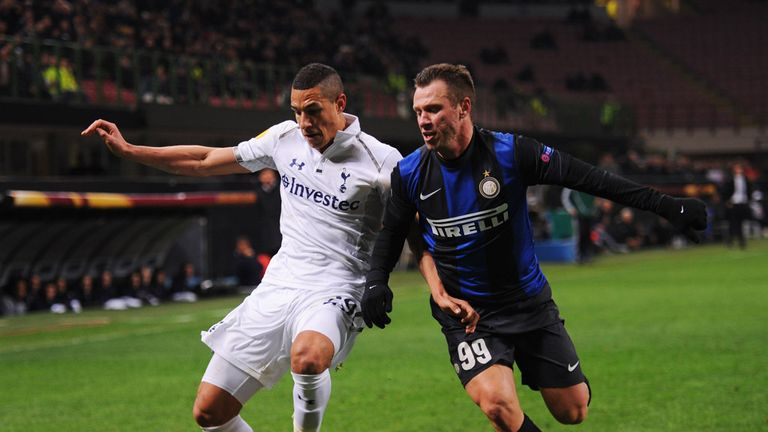 Tottenham's Europa League game against Inter Milan was marred by abuse from fans
