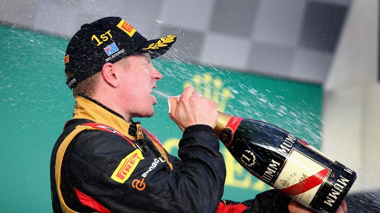 Kimi Raikkonen: Defied the odds to win in Australia