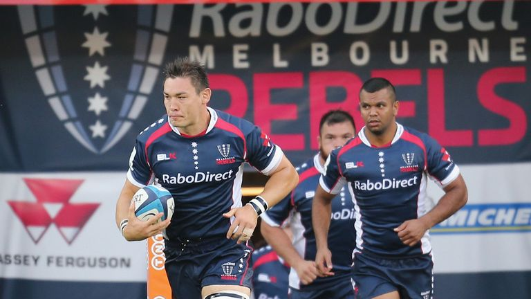 Gareth Delve, left, will leave the Melbourne Rebels this summer