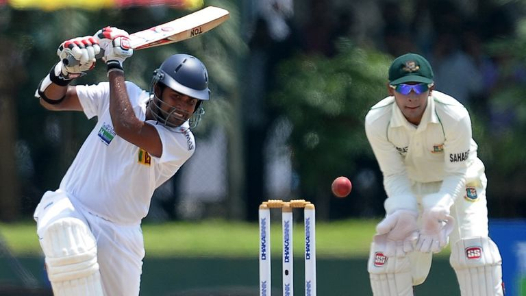 Lahiru Thirimanne started the day on 74...