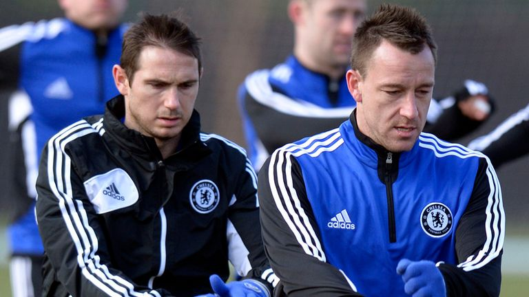 Frank Lampard and John Terry: Chelsea captain has saluted midfielder