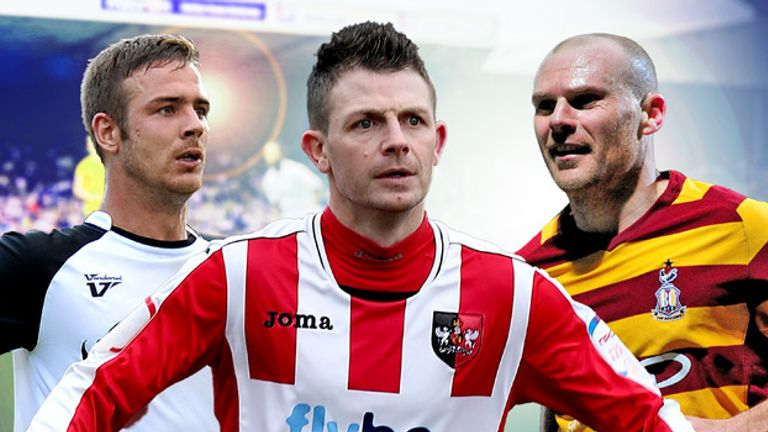 Who will be honoured as League Two's top performer?