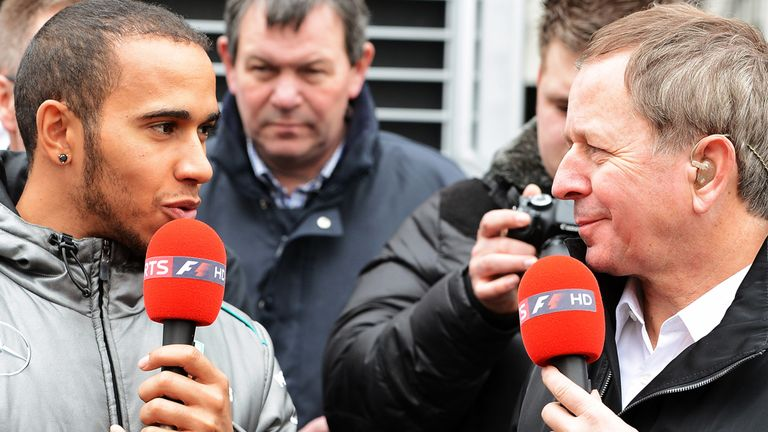 Lewis Hamilton could still win the title this year, reckons Martin