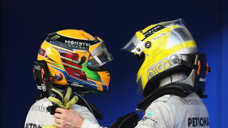 Lewis Hamilton: Insists he won't enjoy preferential treatment over Rosberg