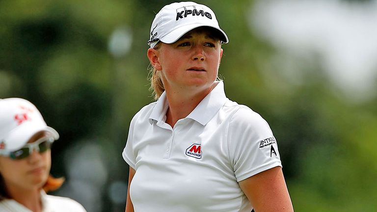 Stacy Lewis: Held on to claim a one-shot win