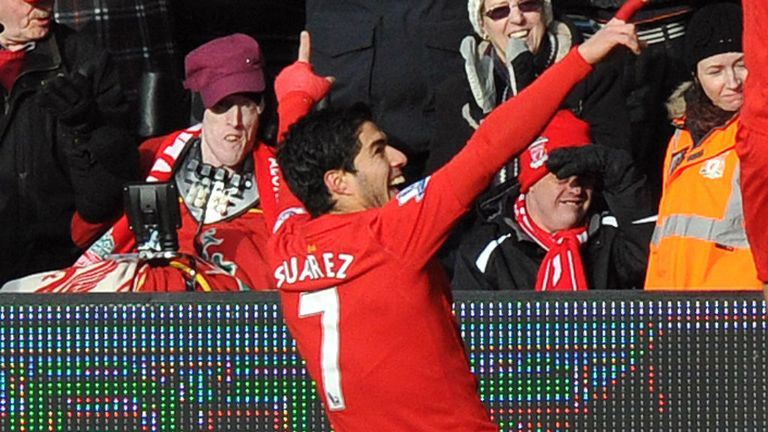 Luis Suarez: Plans to see out his Liverpool contract