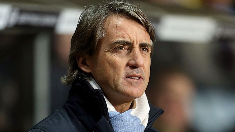 Roberto Mancini: Important game at Everton for Manchester City manager