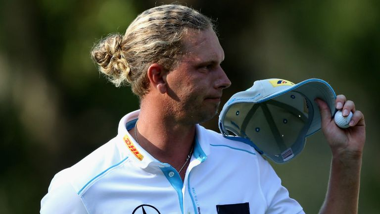 Marcel Siem: started his round with a bogey six