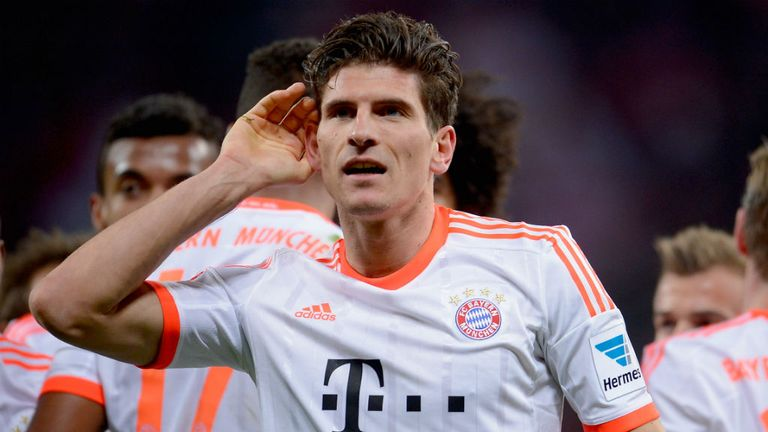 Mario Gomez: Reluctant to be drawn into a debate regarding his future