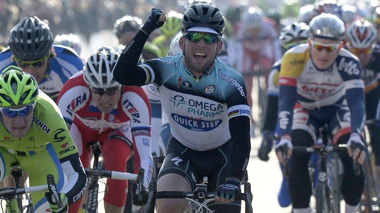 Mark Cavendish: Fought off his rivals in Belgium to signal his form