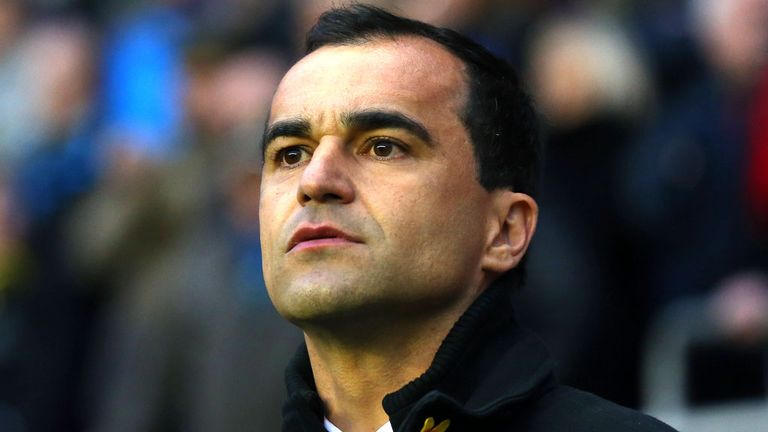 Roberto Martinez: Relieved to come away with a point against QPR
