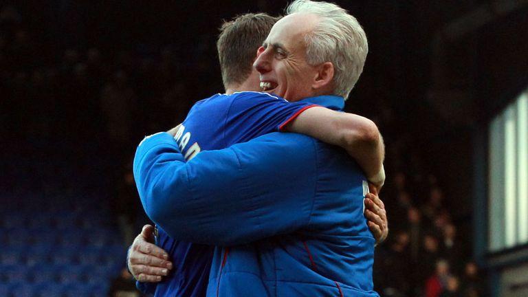Mick McCarthy celebrates late winner