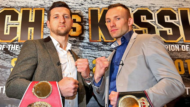 Mikkel Kessler (right): Has won 35 of his fights by knockout