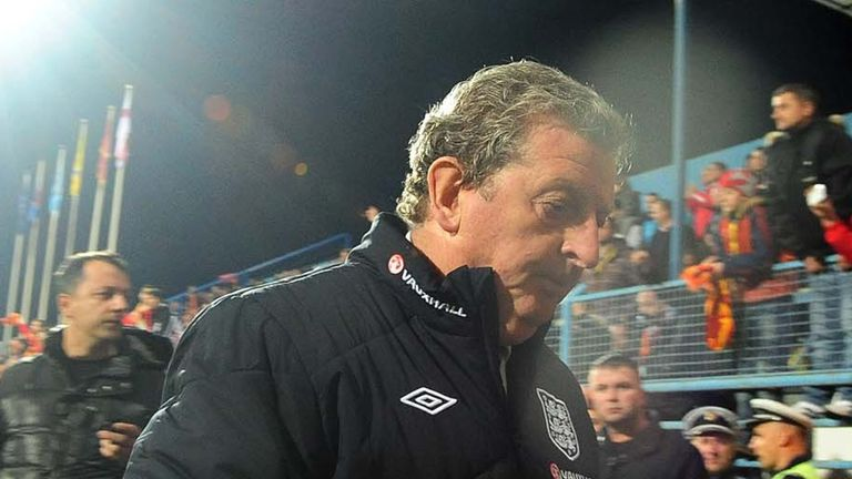 Roy Hodgson: England boss knows they may have to take play-off route to Brazil 2014