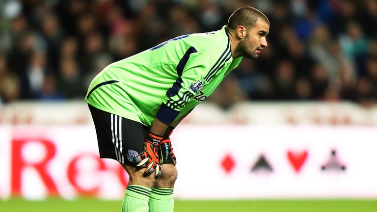 Boaz Myhill: West Brom goalkeeper has signed new deal