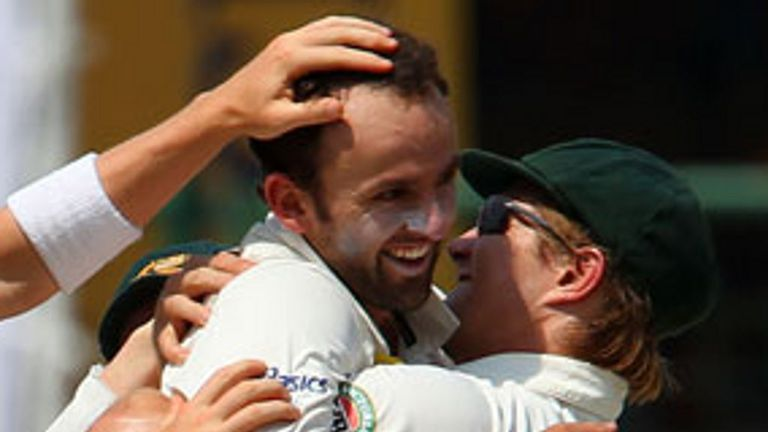Lyon: Took five wickets on day two