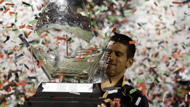 """Novak Djokovic: """"It was never going to be an easy final,"""" admitted the World No 1"""