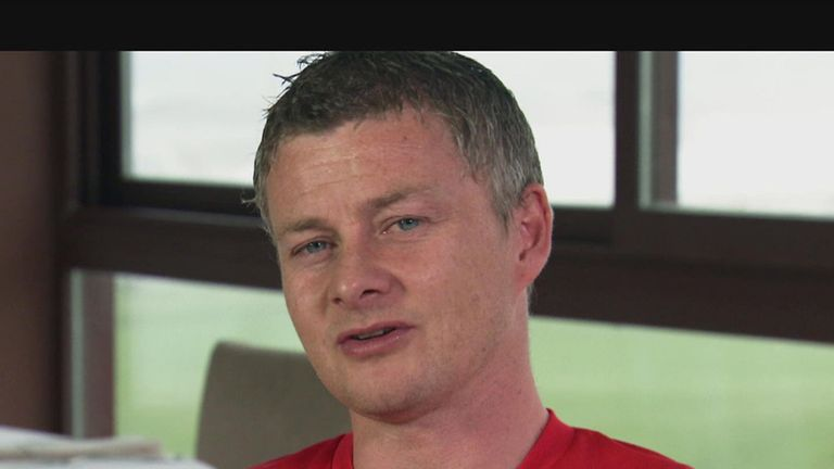 Solskjaer: left out Schmeichel