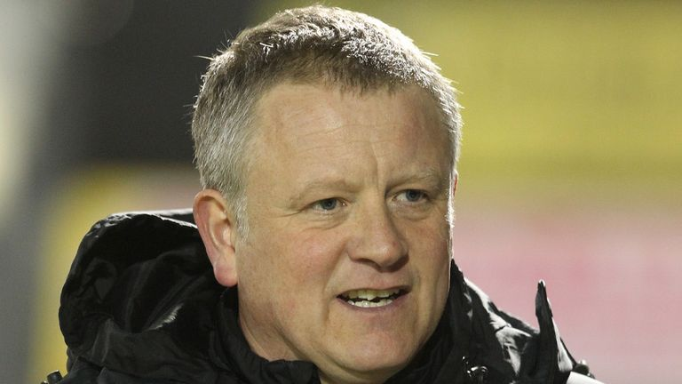 Chris Wilder: Investing in youth