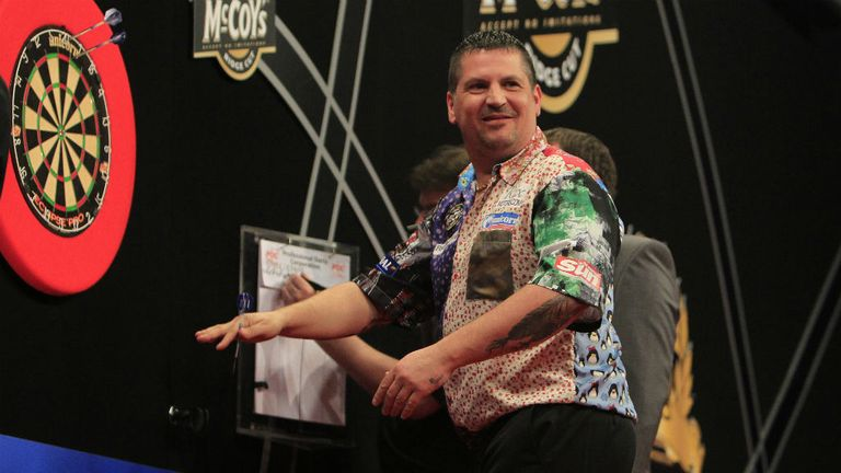 Gary Anderson: Ended long losing televised run against Phil Taylor