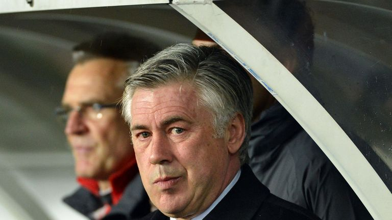 Carlo Ancelotti: Blasted his players