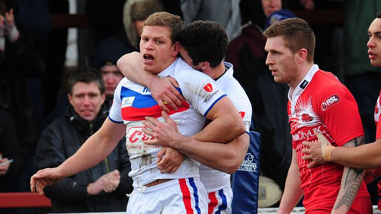 Peter Fox: Scored opening try for Wakefield Wildcats