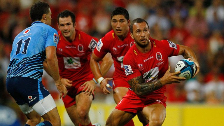 Quade Cooper: Scored a try and also kicked three penalties and two conversions